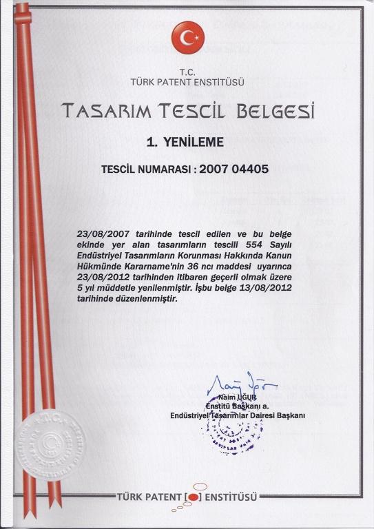 Tasarım Tescil-1